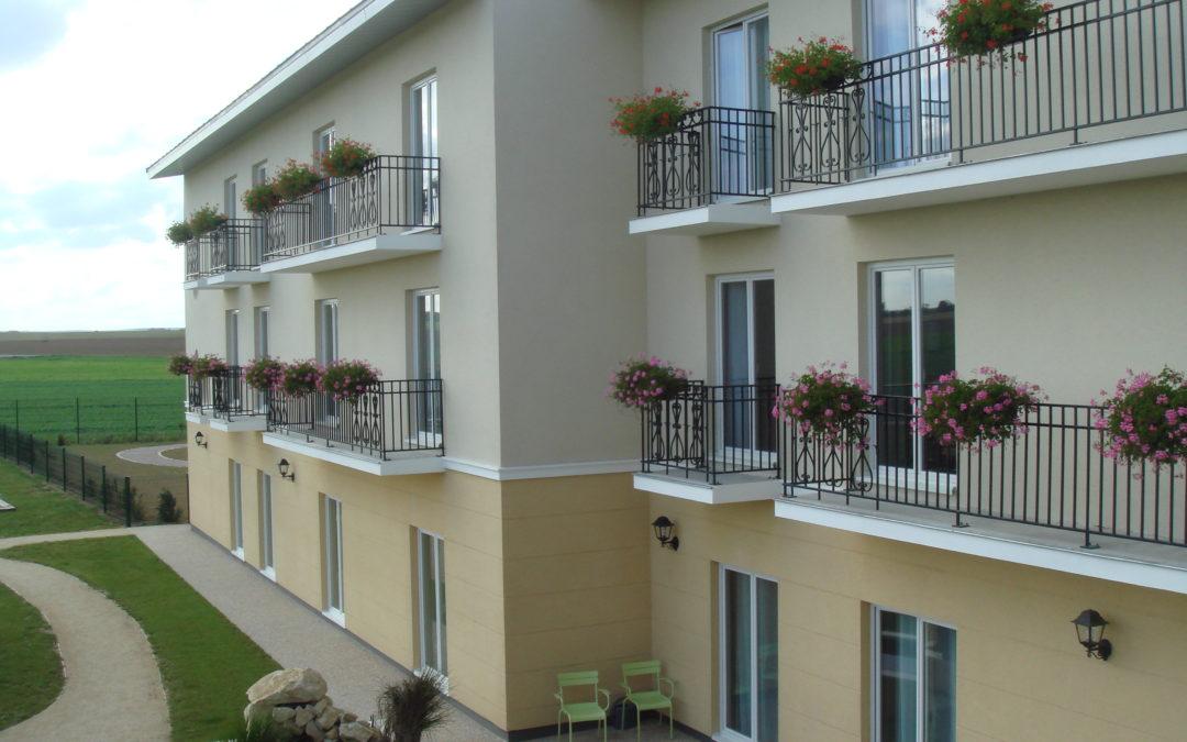 EHPAD 112 chambres & 10 places accueil de jour